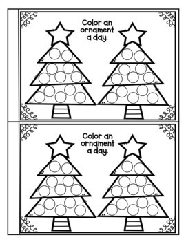 Christmas Countdown Book