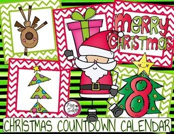 Christmas Countdown Calendar
