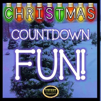 Christmas Countdown Calendar Fun for K-2