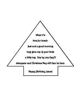 Christmas Countdown Chain