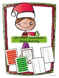 Christmas Countdown Chain Activity