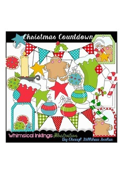 Christmas Countdown Clipart Collection