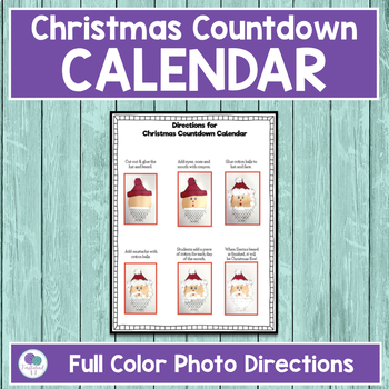 Christmas Countdown Craft Freebie