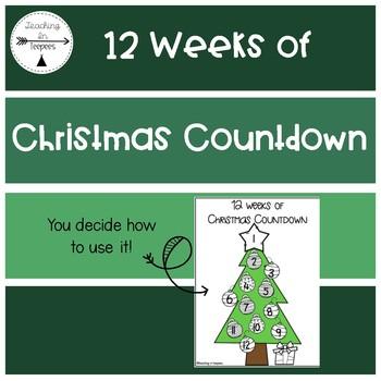 Christmas Countdown Page
