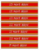 Christmas Countdown Paper Chain