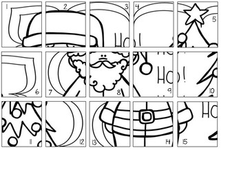 Christmas Countdown Puzzle