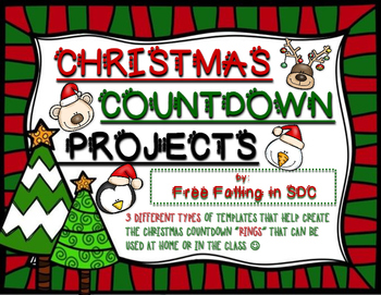 Christmas Countdown Ring Activities