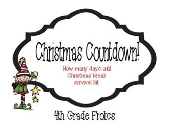 Christmas Countdown Survival Kit