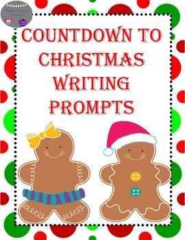 Christmas Countdown Writing Prompts