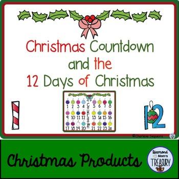 Christmas Countdown and the 12 Days of Christmas
