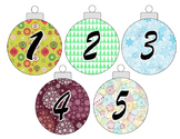 Christmas Countdown numbers
