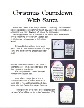 Christmas Countdown with Santa