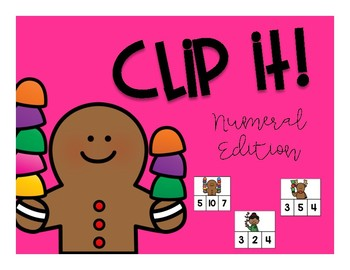 Number Sense: Christmas Counting to 10