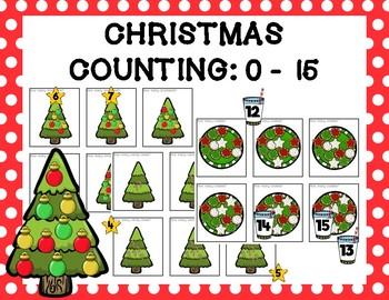 Christmas Counting: 0-15