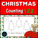 Christmas Math Activity: Christmas Counting Numbers 1-10 for Kindergarten
