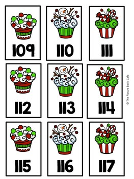 Counting 1-120-Christmas Themed