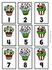 Number Cards 1-120-Christmas Themed