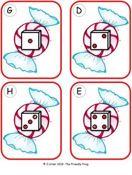 Christmas Counting 1-5 {Subitizing with Dice}
