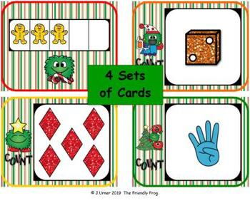 Christmas Counting 1-5 (Write the Room for Beginners)
