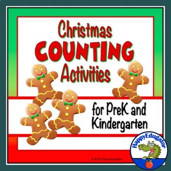 Christmas Counting Interactive PowerPoint