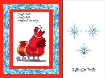 Christmas Counting Activities and Tracing Papers, 1-10, 1-6, 1-5