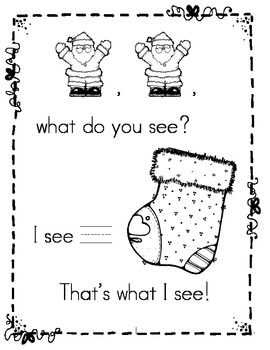 Christmas Counting Book: Number Writing (Pre-K, TK, K, Sp Ed & Gen Ed)