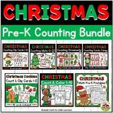 Christmas Preschool Counting Bundle