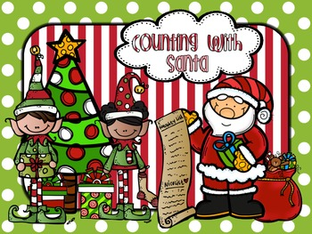 Christmas Counting Centers - Missing Numbers, Counting On