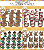 Christmas Counting Clip Art Bundle