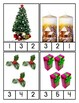 Christmas Counting Clip Cards 1-10