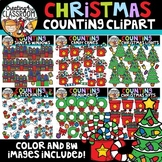 Christmas Counting Clipart Bundle {Christmas Clipart}