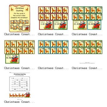 Christmas Counting (Counting by 1's)