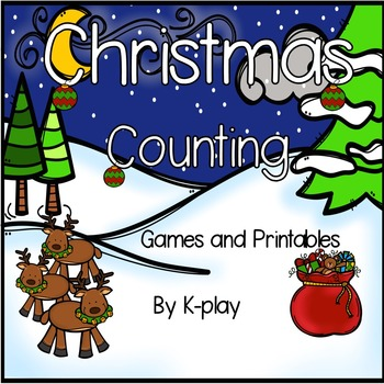 Christmas Counting Games and Printables