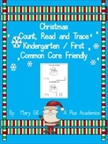 Kindergarten / First - Christmas Emergent Reader with Numbers