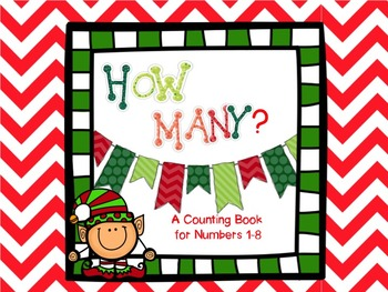 Christmas Counting Math Activity
