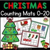 Christmas Play Dough Counting Mats 0-10