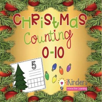 Christmas Counting Mats 0-10