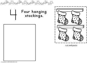 Christmas Counting Mats 1 to 10