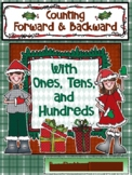 Christmas Counting Forward and Backward by 1's, 10's, 100's