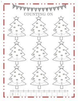 Christmas Counting On 1-10