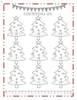 Christmas Counting On 1-20