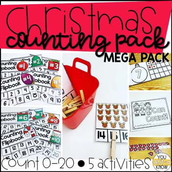 Christmas Counting Pack 1-10