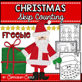 Christmas Skip Counting FREEBIE!