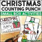 Christmas Counting Punch: Small Box Activities