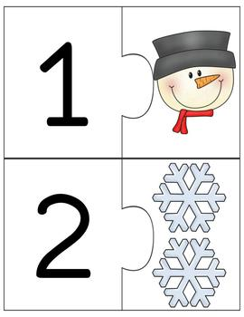 Christmas Counting Puzzle Center