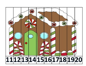Christmas Counting Puzzles FREE