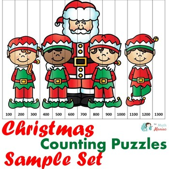 Christmas Counting Puzzles Sample Set