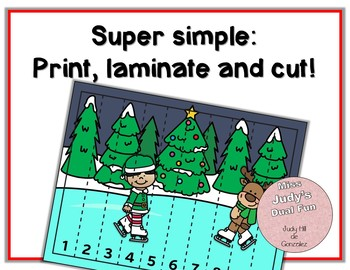 Christmas Math Puzzles, 1-10