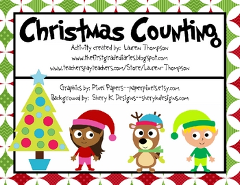 Christmas Counting Set--Numbers 0 to 25