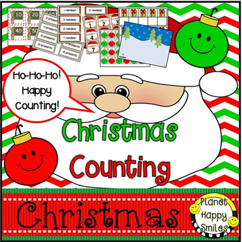 Christmas Activity ~ Christmas Counting Stations